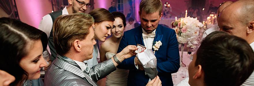 Vivre un mariage en magie