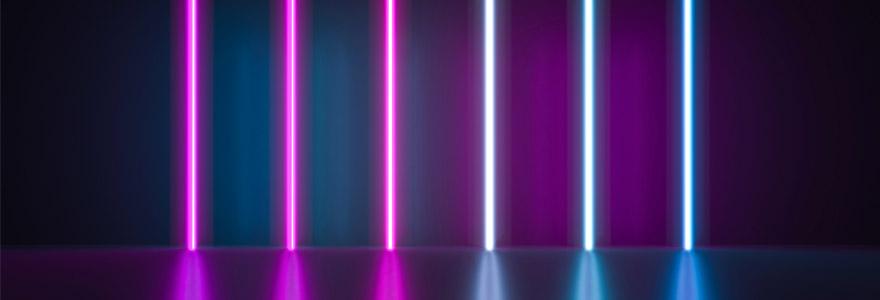 Les bâtons lumineux pour instaurer