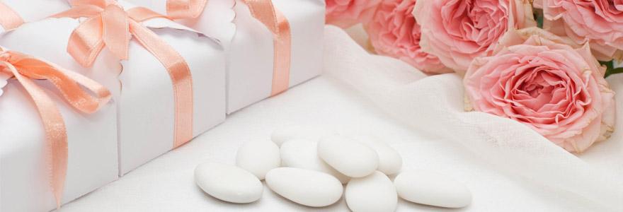 Accessoires et articles pour fête de mariage